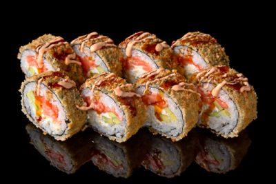 Sake Tempura Roll