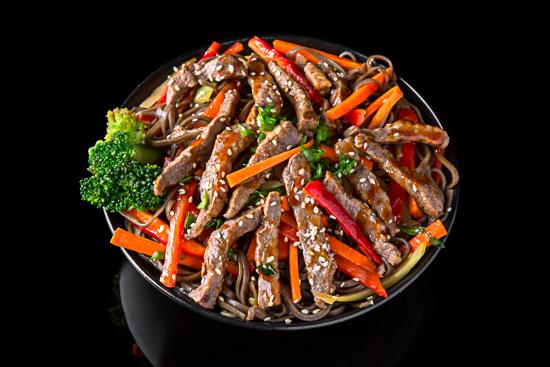 Beef Soba Noodles