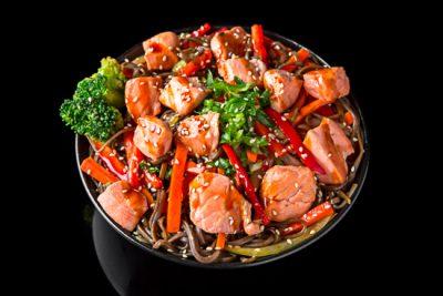 Sake Soba Noodles