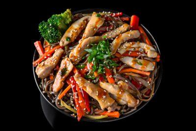 Chiken Soba Noodles