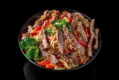 Beef Udon Noodles