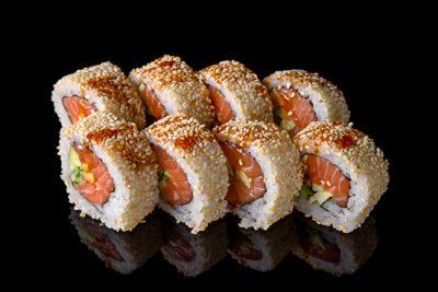Sake Spicy Roll