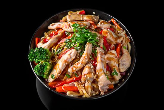 Chiken Udon Noodles