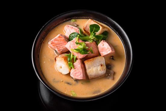 Tom Yum Fish Supe